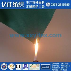 420g cotton flame retardant fabric flame retardant yarn card